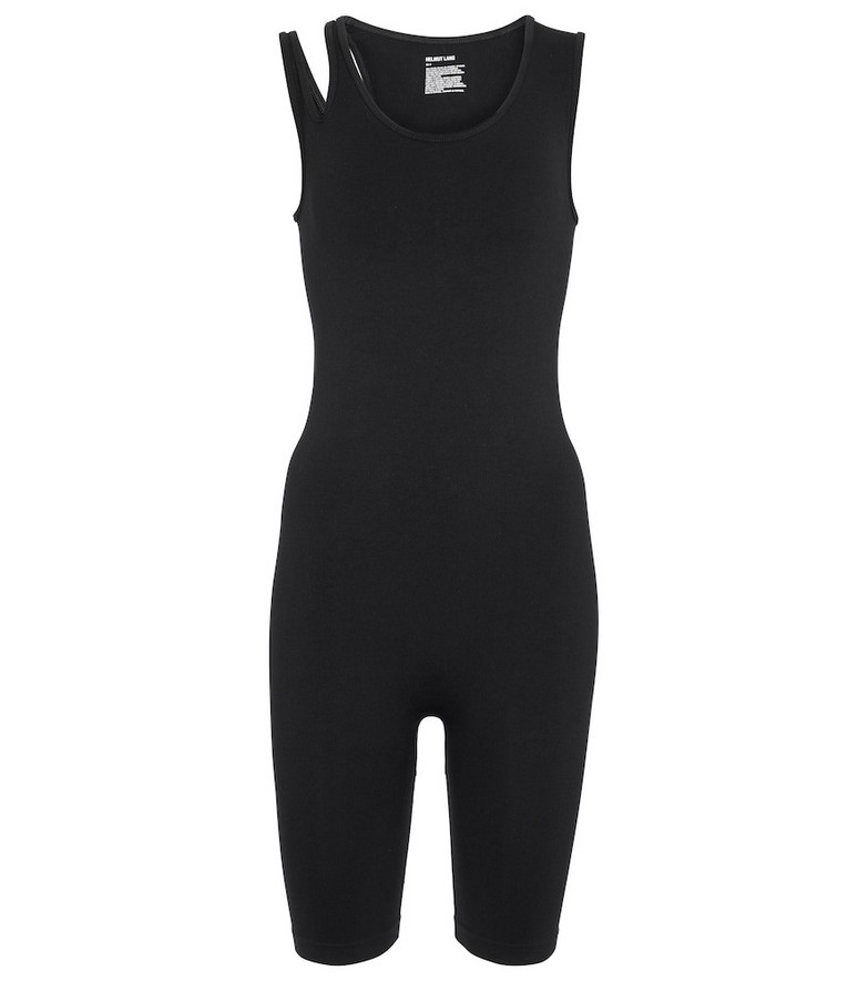 Helmut Lang Cutout bodysuit in black