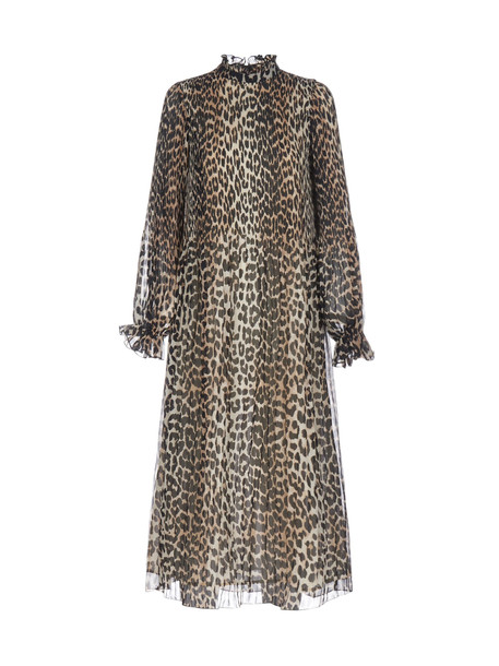 Ganni Dress in leopard