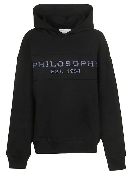 Philosophy di Lorenzo Serafini Logo Hoodie in nero