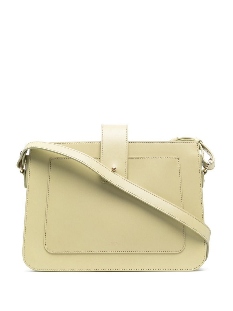 A.P.C. A.P.C. Albane leather satchel - Green