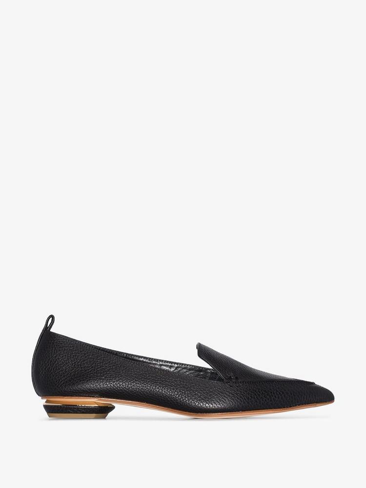 Nicholas Kirkwood 18mm Beya loafers in black