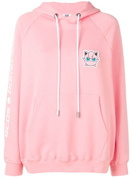Gcds Jigglypuff patch hoodie in pink