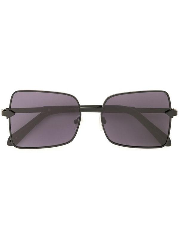Karen Walker Wisdom square-frame sunglasses in black