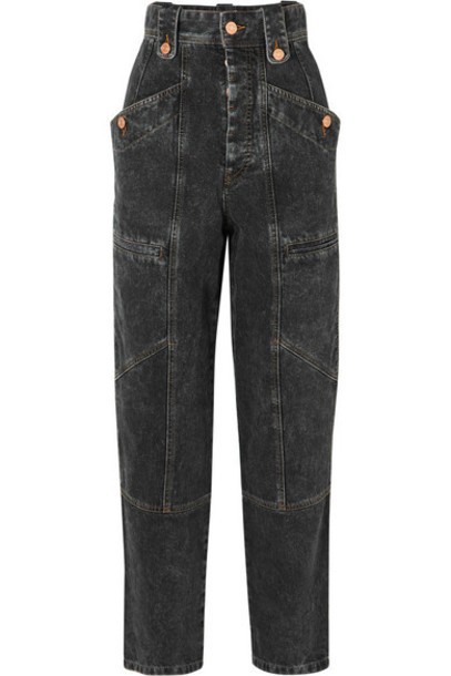 Isabel Marant Étoile - Neko High-rise Jeans - Gray