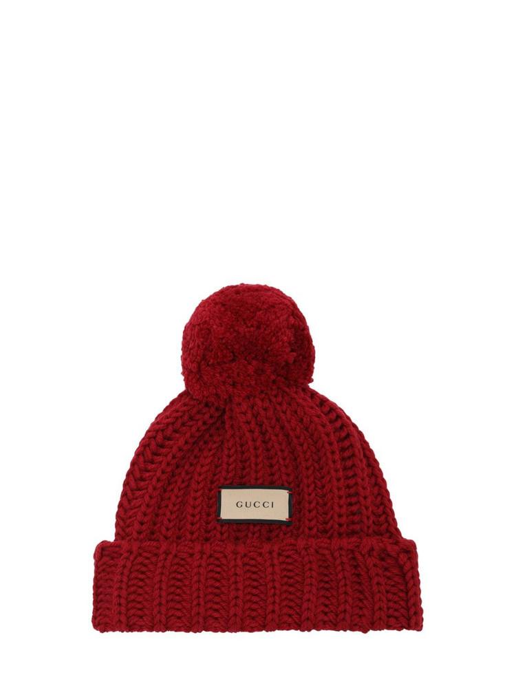 GUCCI Wool Knit Hat