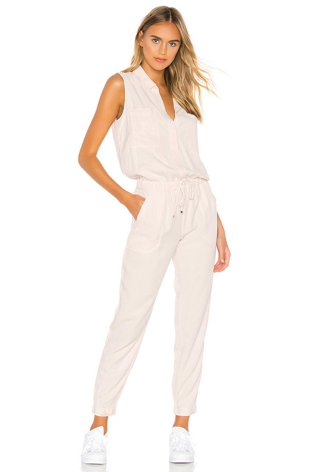 YFB CLOTHING Every Jumpsuit in beige