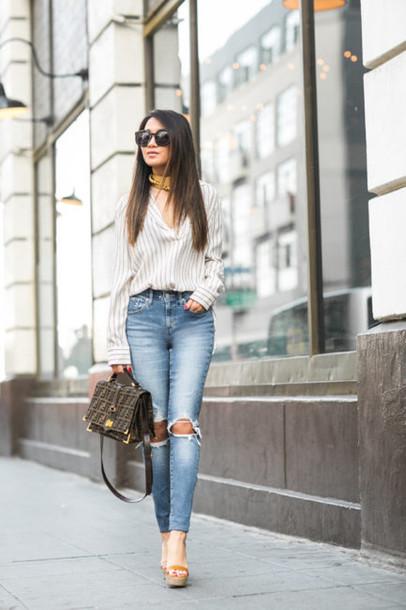 wendy's lookbook, blogger, bag, shoes