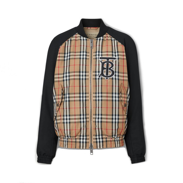 Burberry Harlington Logo Jacket in black