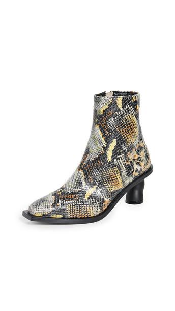 Reike Nen Wave Heel Ankle Boots in orange / multi