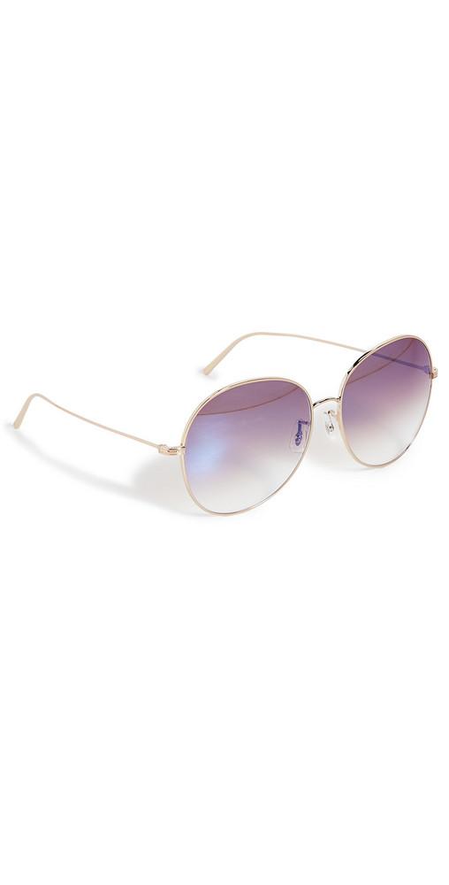 Oliver Peoples Eyewear Ysela Sunglasses in gold / rose