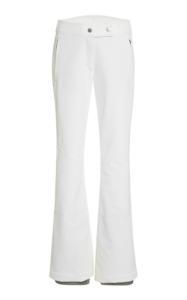 Toni Sailer Sestriere Stretch-Shell Flared-Leg Ski Pants in white