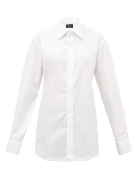 Emma Willis - Superior Cotton-poplin Shirt - Womens - White