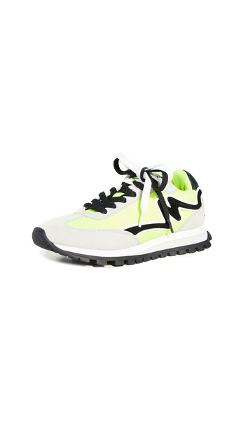 Marc Jacobs The Jogger Sneakers in yellow