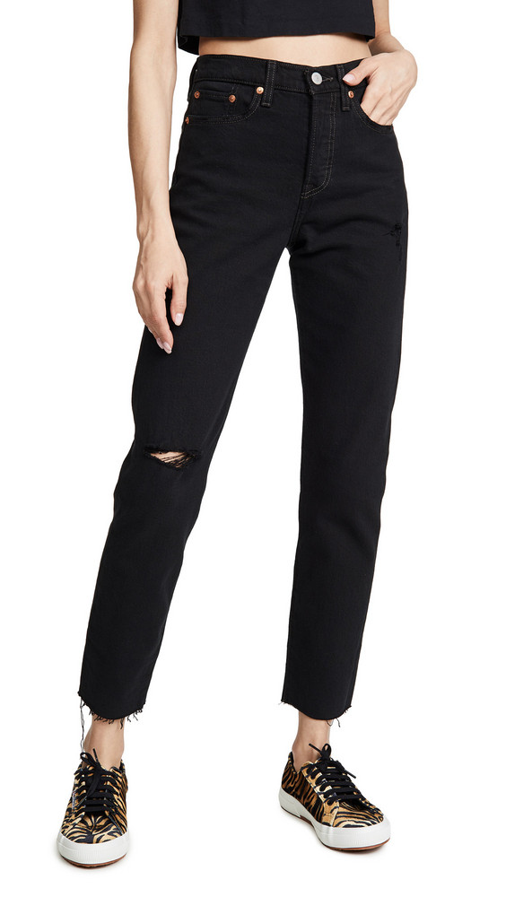 Levi's Wedgie Icon Fit Jeans in black