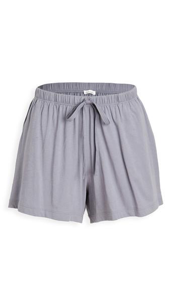Skin Casey Shorts in blue