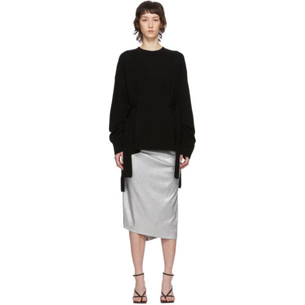 McQ Alexander McQueen Black Wako Sweater