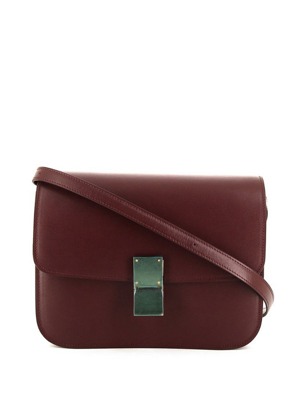 Céline Pre-Owned pre-owned Classic Box shoulder bag in red