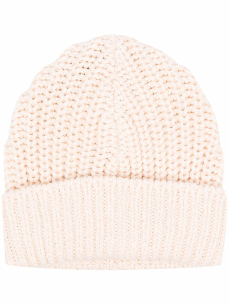 Isabel Marant chunky-knit beanie - Neutrals