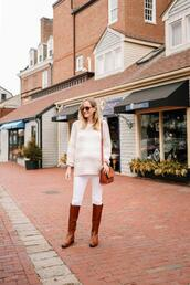 kelly in the city - a preppy chicago life,style and fashion blog,blogger,sunglasses,sweater,jewels,shoes,bag,jeans