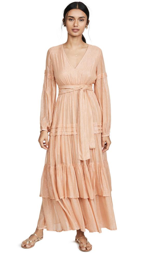 SUNDRESS Estelle Long Dress in tan