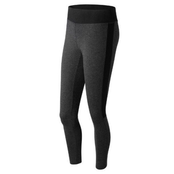 New Balance 71619 Women's Womens Trackster Legging - Grey (WP71619HC)