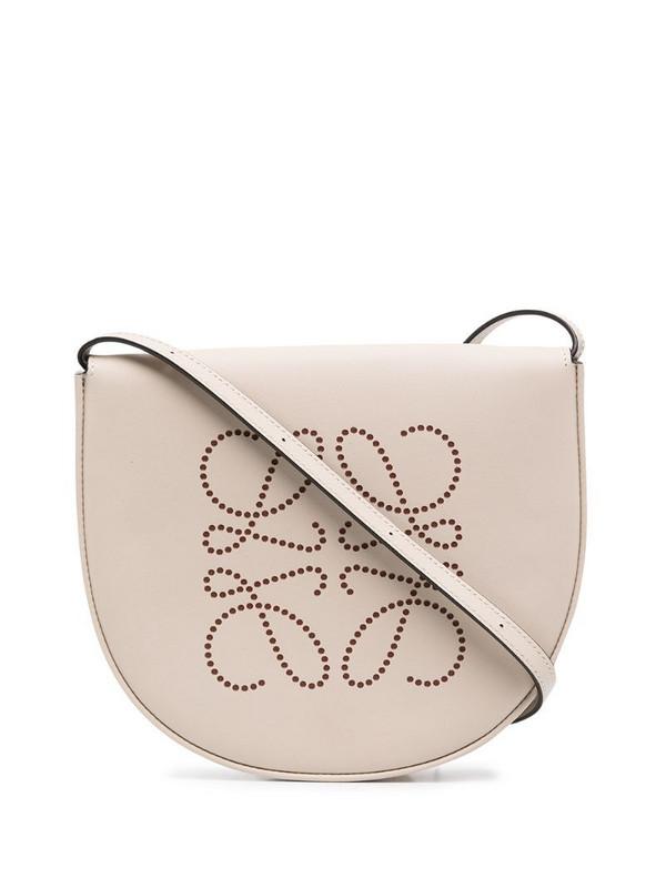 LOEWE Heel mini crossbody bag in neutrals
