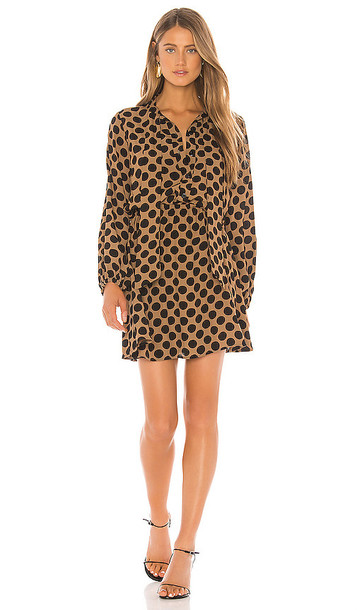 Rachel Pally Rayon Mia Dress in Brown