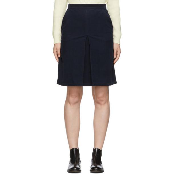 A.P.C. A.P.C. Navy Coco Miniskirt
