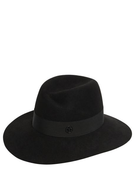 MAISON MICHEL Wool Felt Hat in black