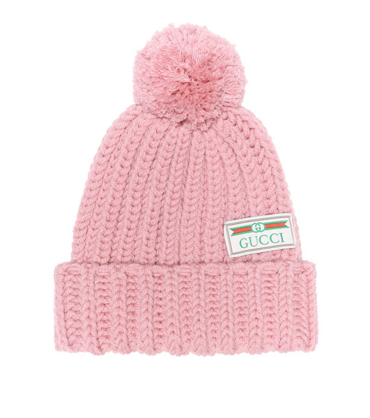 Gucci Wool beanie in pink