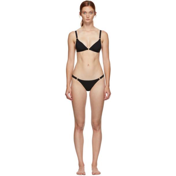 Agent Provocateur Black Malisa Triangle Bikini
