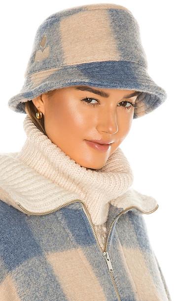 Isabel Marant Haley Hat in Blue