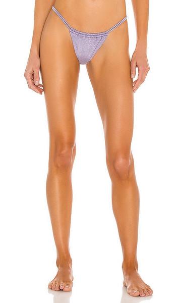 Montce Swim Brasil Bikini Bottom in Lavender in lilac