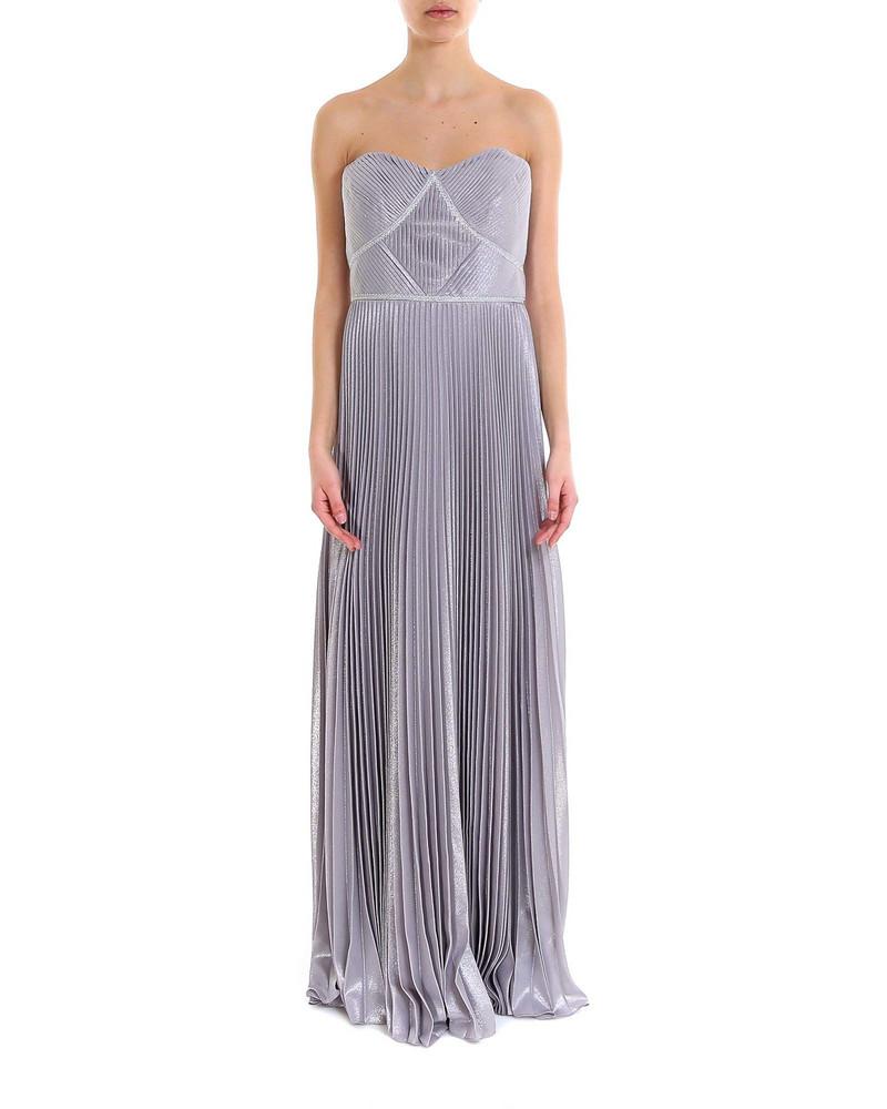 Marchesa Dress in silver