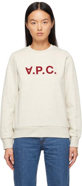 A.P.C. A.P.C. Beige Viva Sweater