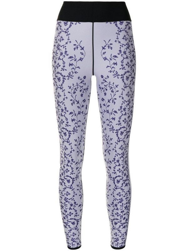Ultracor floral-print high-waist leggings