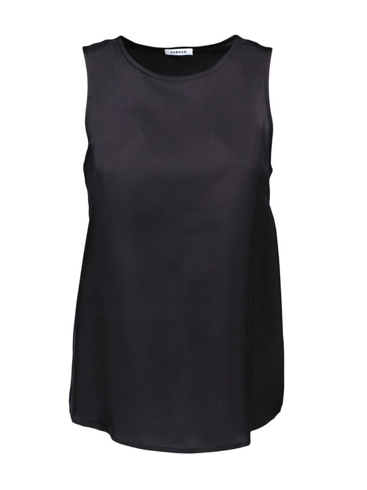 Parosh Top in black