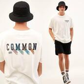hat,top,shorts