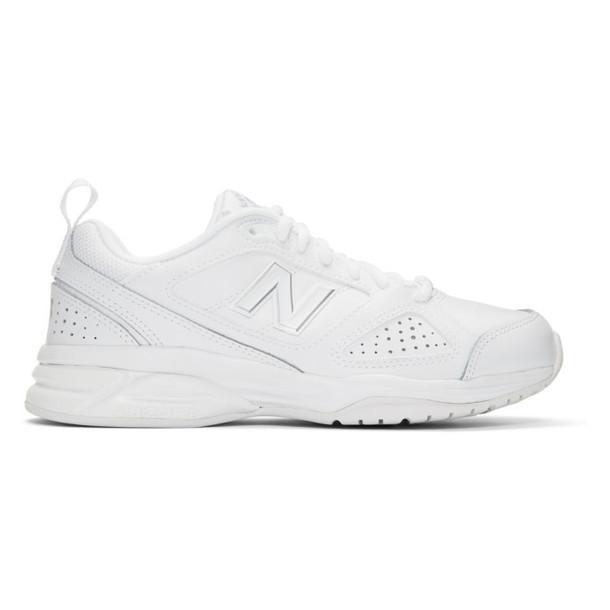 New Balance White 623V3 Sneakers