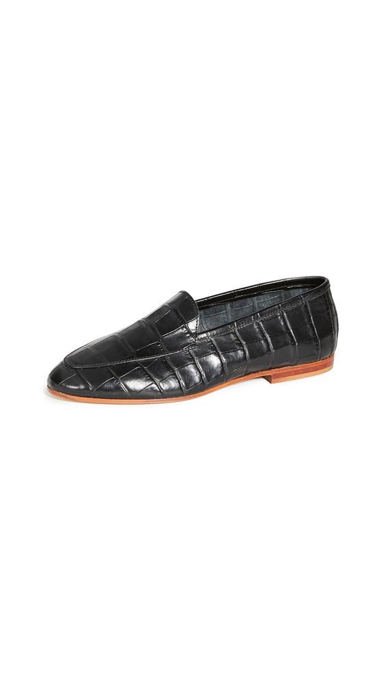 Mansur Gavriel Sock Loafers in black
