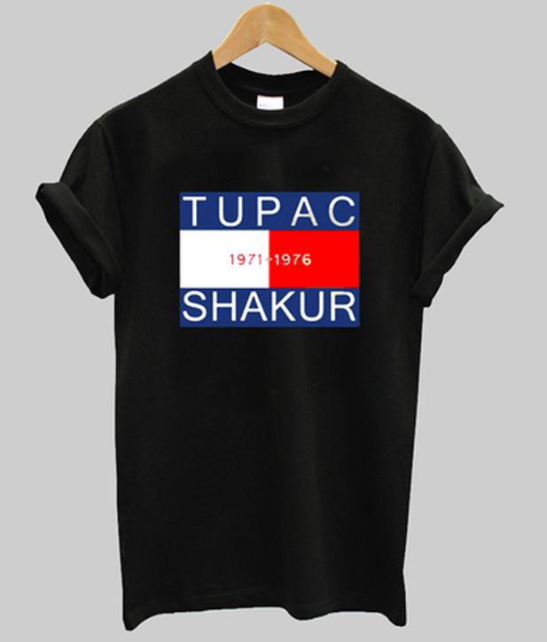 tupac shakur 1971 - 1976 t-shirt