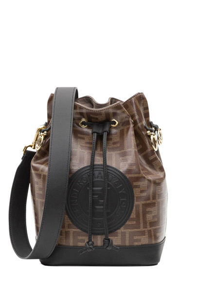 Fendi Mon Tresor Bucket Bag in nero