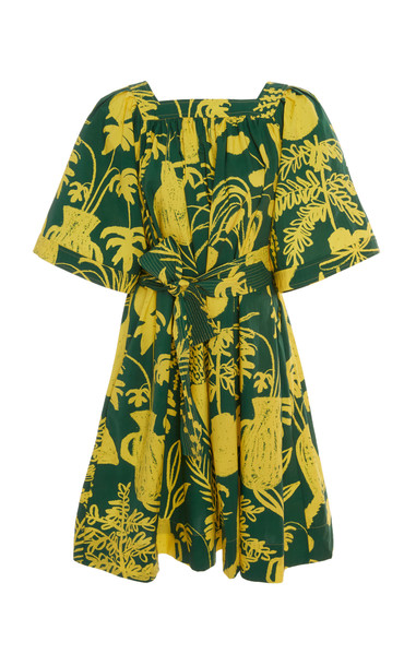 Whit Mira Organic Cotton Dress in green