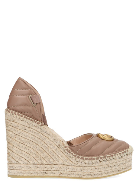 Gucci 'palmyra' Shoes in beige