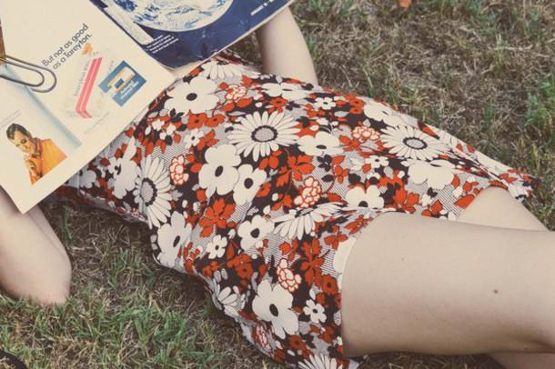 dress floral daisy