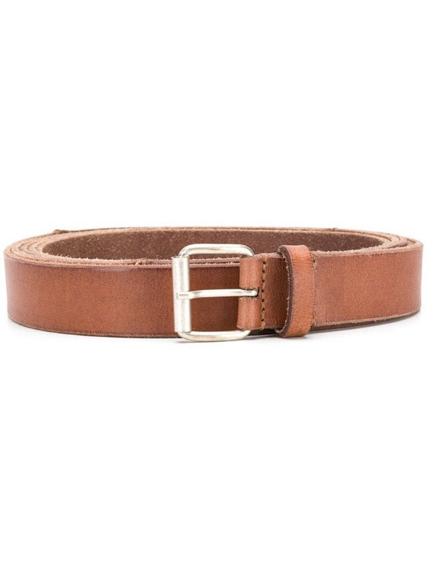 Isabel Marant classic buckle belt in brown