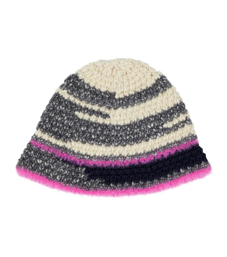 STELLA McCARTNEY Wool-blend beanie