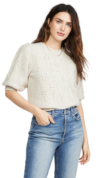 Joie Joza Sweater in white