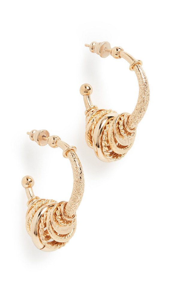 GAS Bijoux Creole Maranzana Earrings in gold
