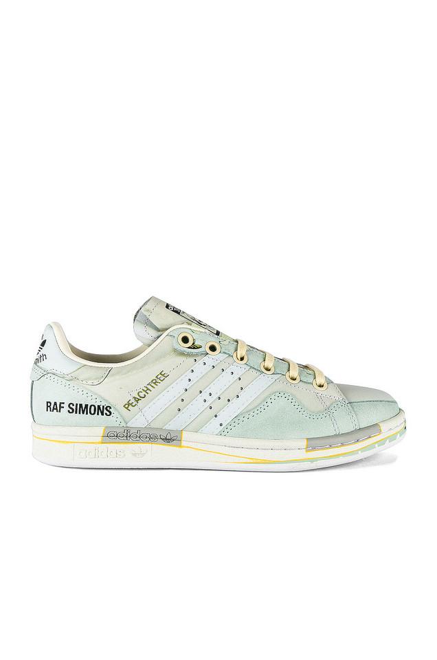 adidas by Raf Simons Peach Stan Sneaker in white